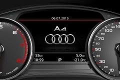 Fahrerinformationssystem mit Farbdisplay 2016 Audi A4 Avant/Limousine
