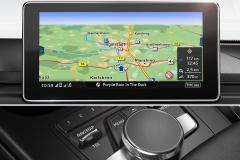 MMI Navigation plus mit MMI touch 2016 Audi A4 Avant/Limousine